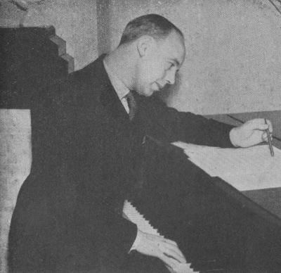 George Scott-Wood composing